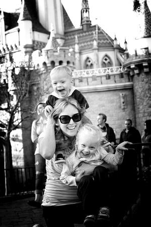 Happy at Disney