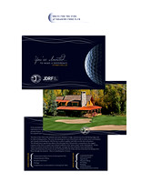 JDRF Golf Event Promotional Material